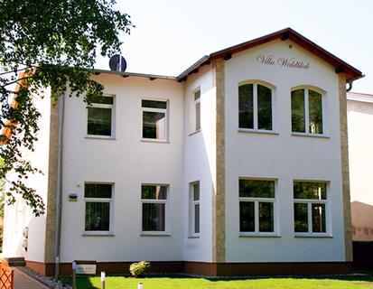 Ferienwohnungen Villa Waldblick Zempin / Usedom