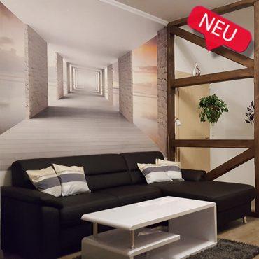 Ferienwohnungen Villa Waldblick - Wohnzimmer FeWo Waldblick