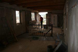 Ein Blick über den gesamten Bereich im Obergeschoss
