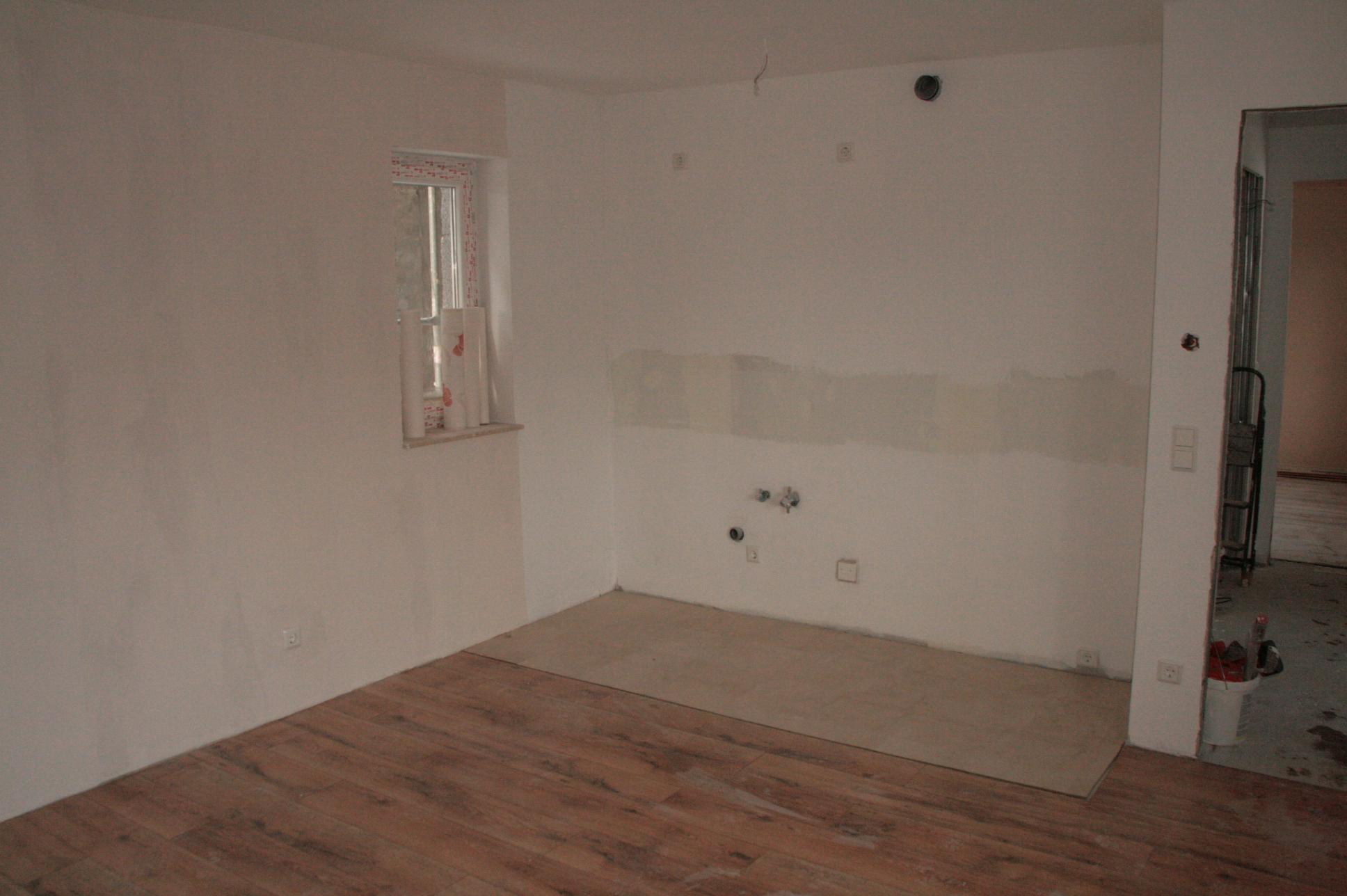 Der neue Küchenbereich der FeWo I