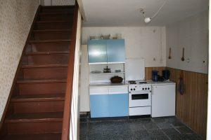 Die damalige Küche - heute Bad der Fewo 1