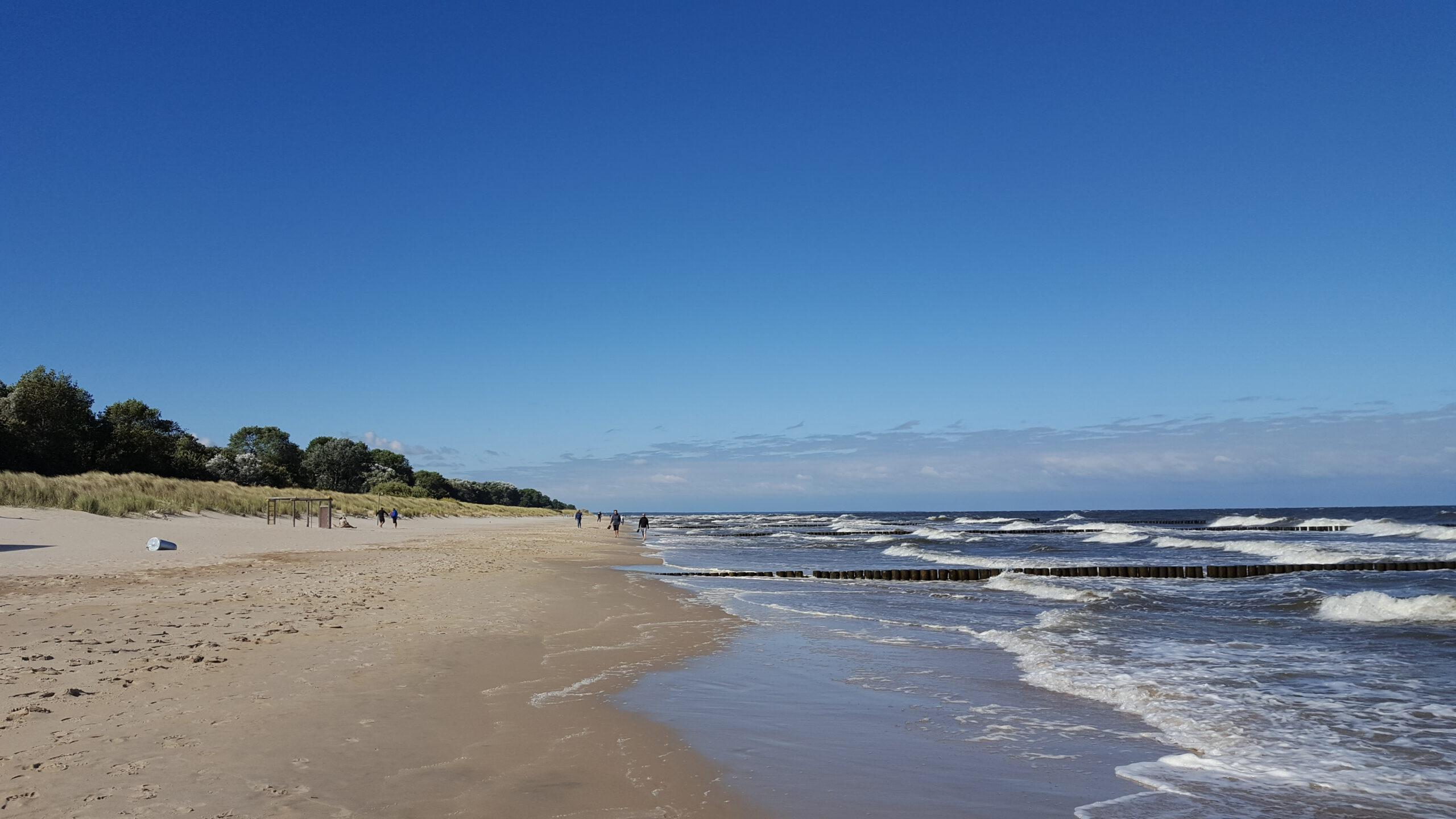 Strand zwischen Zempin und Koserow - Ostsee Urlaub Wanderwege Zempin Insel Usdeom Ausflusgziel