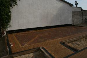 Die Terrasse ist nun auch fertig