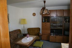 Das Wohnzimmer - heute das Schlafzimmer der FeWo I