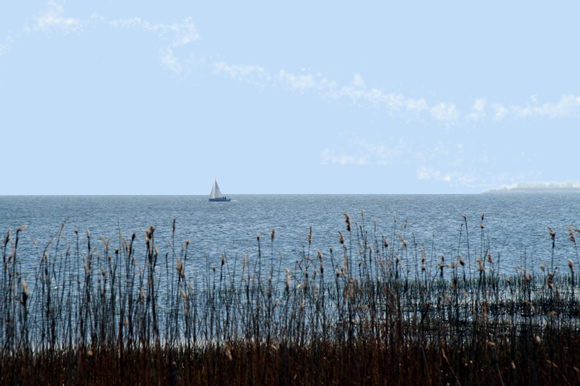 Achterwasser Insel Usedom Ausflugsziel Erholung Urlaub