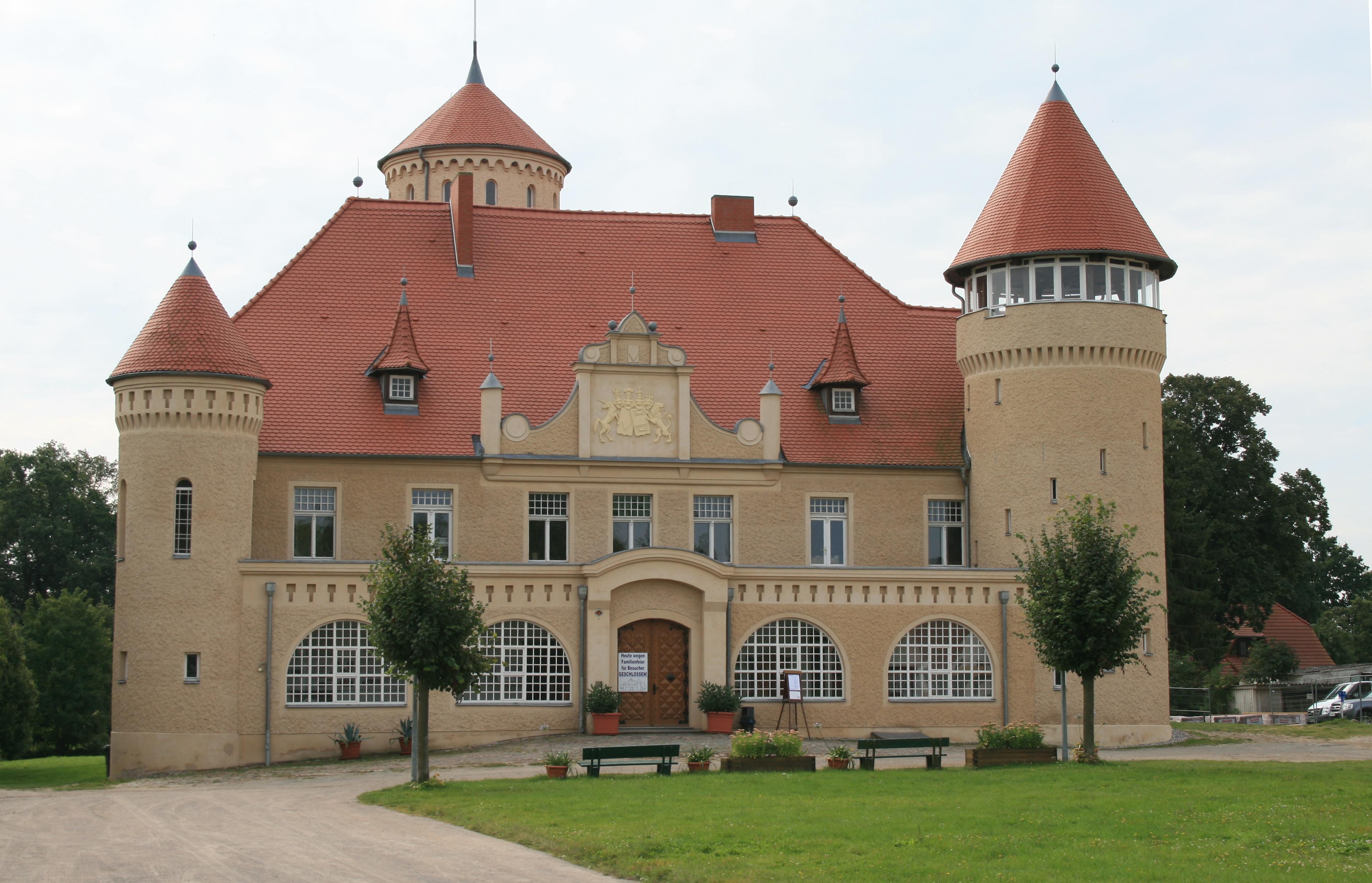 Schloß Stolpe Insel Usedom Ausflugsziel