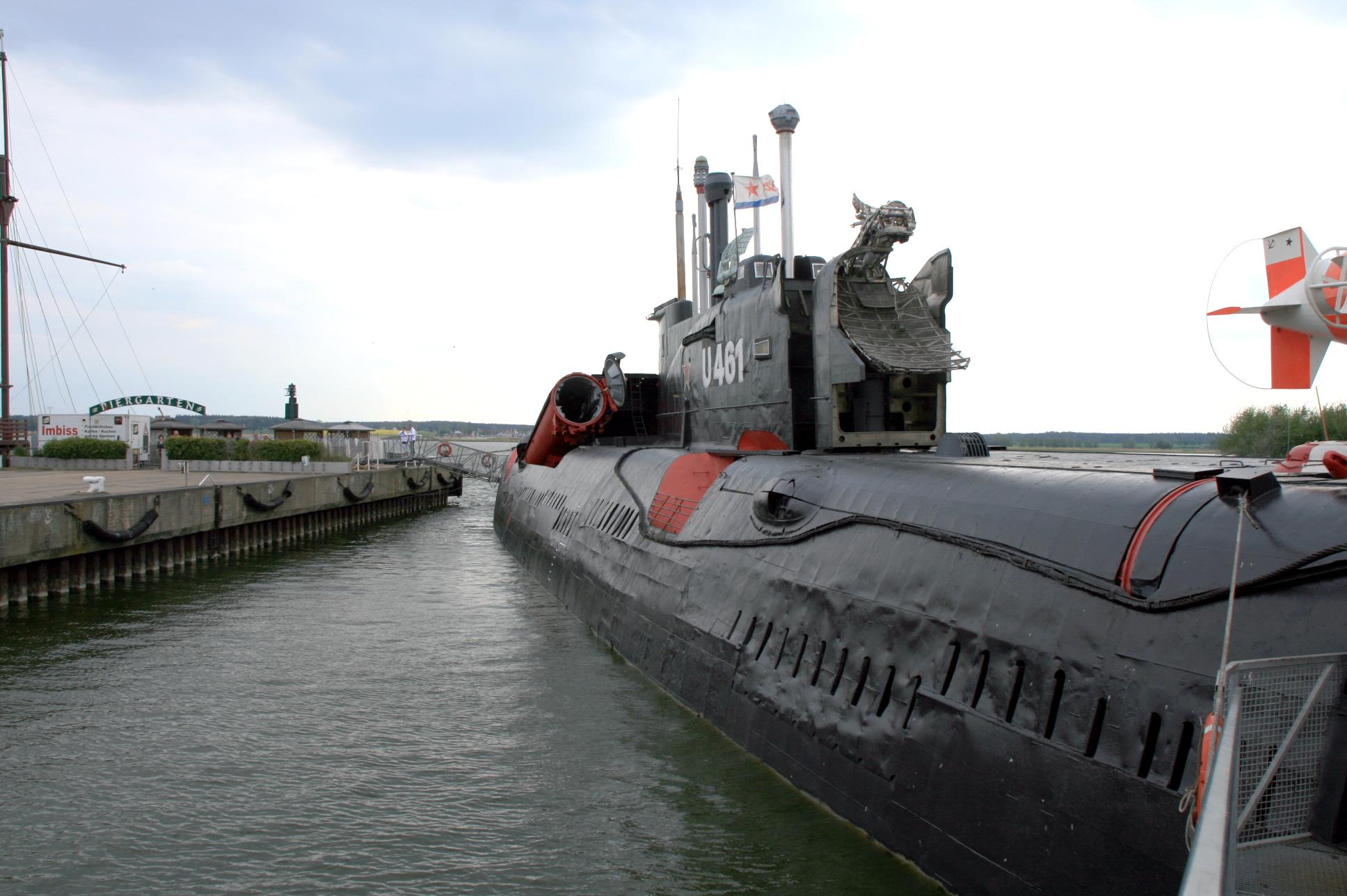 U-Boot Peenmünde Usedom Insel Usedom Ausflugsziel Erholung Urlaub