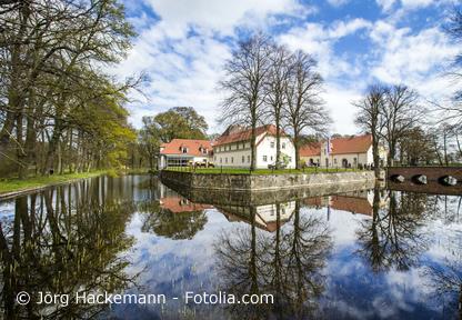 Wasserschloss Mellenthin Ausflugsziel Usedom