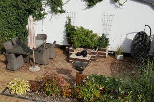 Terrasse heute