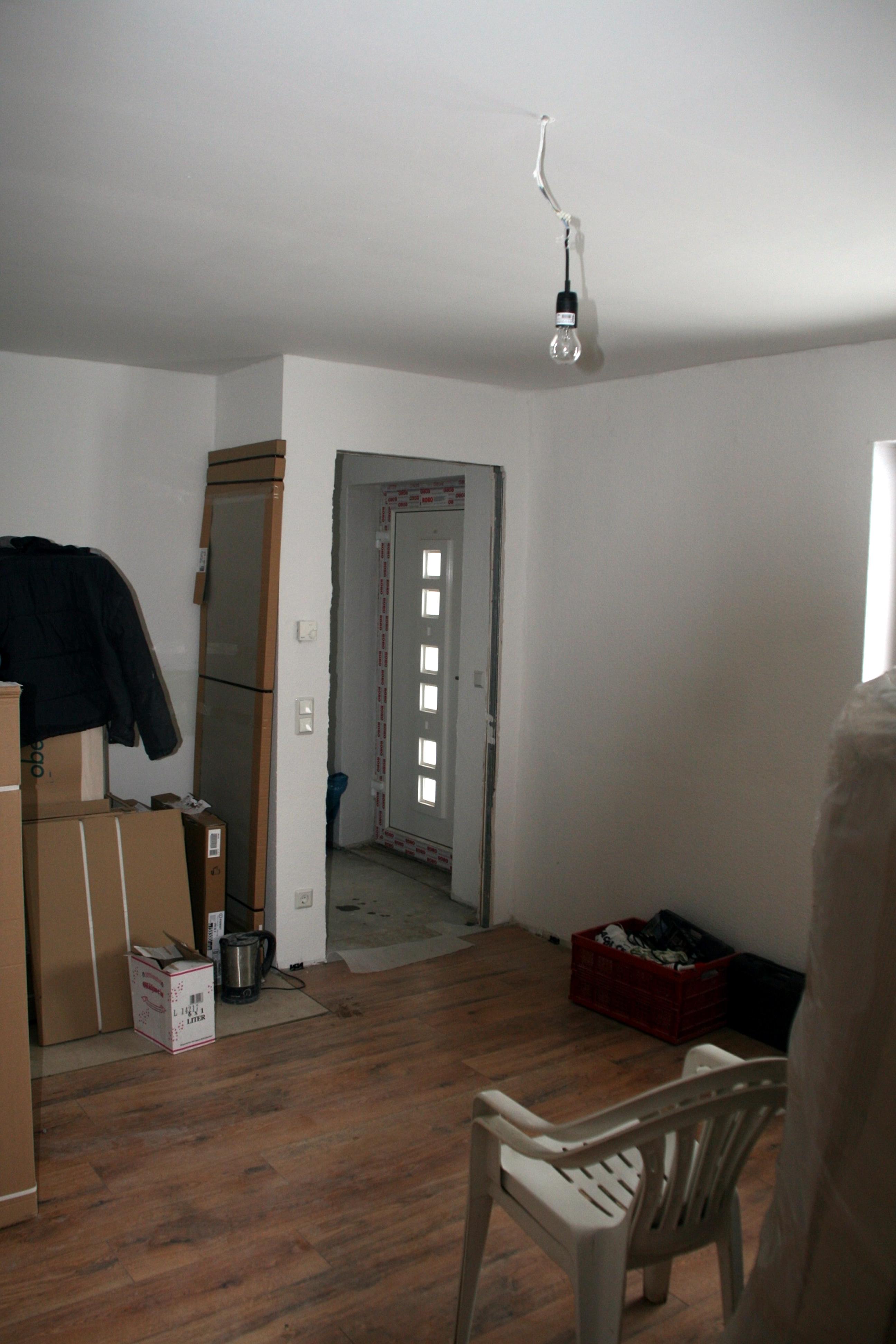 Es ist geschafft - aus Alt wurde Neu :-)) - noch die Möbel aufstellen und FERTIG!!!